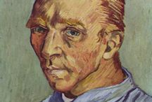 "For the love of Vincent / One of my first loves in the art world, Vincent Van Gogh. ""The world was never meant for one as beautiful as you"" (Don McClean)"
