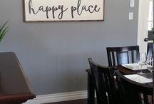 Wall Sayings happy home