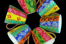 Painting - Ceramic & Porcelain / painted ceramics, porcelain, art