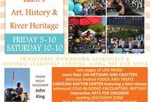 RiverFest 2015 / Celebrating Eden's Art, History & River Heritage Friday, September 18 & Saturday, September 19, 2015