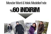 Moncler Mont Modelleri / Moncler Markasının Unisex Mont modellerinde %70'e varan muhteşem indirim!!!! - http://www.maslakoutlet.com/moncler-mont-kampanya.php
