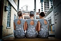 here come the girls / beautiful bridesmaid dress inspiration