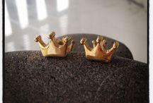 Cufflinks / Unisex cufflinks from silver