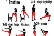 Workouts / Gym gym gym