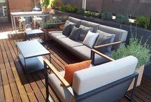 Terrazas para tomar el sol y vivir al aire libre / Selección de terrazas increíbles para tomar el sol y casi vivir al aire libre.
