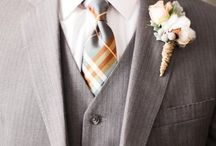 Grey & Brown Kraft Wedding Ideas / sophisticated grey and warm brown is a new trend for 2016. Check out KraftOutlet.com for all your DIY kraft needs.