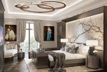 sypialnia glamour luxury