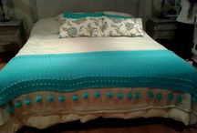 Pies de cama a crochet