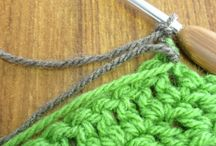 Changing colors of yarn in your crochet