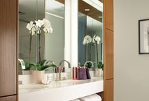 Carrie McCall Design - Bathrooms / Bathrooms Design by CKM Home Deseign
