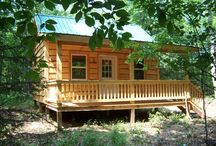"""Riverfront Land & Cabin Package on 2.6 Acres - $59,995 / Build your cabin on Fish Creek on 2.6 wooded acres. Driveway already installed. Cleared cabin spot for your new 16 x 24' """"Classic Style"""" cabin on a scenic overlook surrounded by towering pines, spruce, cherry and maple trees. Fish from your own land! Plenty of deer with state land nearby. Direct access to snowmobile trails. World-class fishing at nearby Oneida Lake, Salmon River and Lake Ontario. Also close to Salmon River Res. Only 45 minutes from Syracuse, easy access from Route 81."""