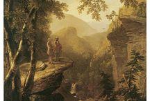 Hudson River School Paintings