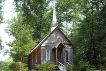 I love churches / by Pam Reid
