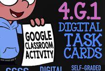 Google Classroom - 4th Grade Activities