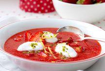 Suppe / Erdbeer