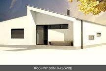 Relizacie / Realizované stavby nízkoenergetických domov.