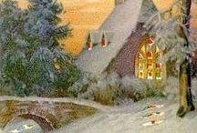Vanhanajan joulukortit