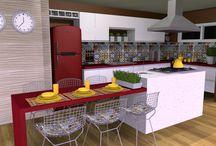 Cozinhas - Desejo Decoração / Parte de nossa coletânea de ambientes planejados. Acesse nosso site: http://www.desejodecoracao.com.br/