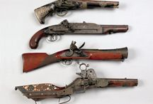Weapons and Military Objects / Pook & Pook offers commission rates as low as 0% on firearms and military objects. This board shows examples of antique firearms and military objects sold through Pook & Pook, Inc.