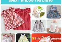Dress pattern sewing