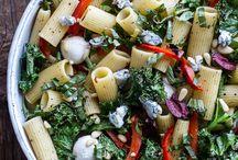 Pasta recipes / Recipes using pasta.
