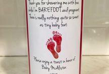babyshower thankyou cards