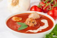 Tomatensuppe / Geröstet
