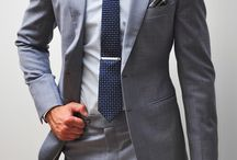 grey mens suits
