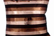Striped Pillows/Cushions