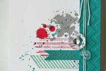 SU Gorgeous grunge Stamp Set