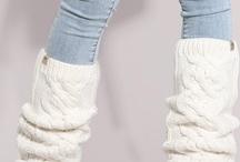Knitting - sock/leg warmer