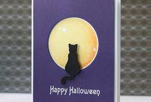 Halloween diy cards