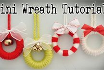 mini wreaths