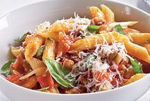 Yummy pasta dishes / Healthy pasta recipes that are also easy to prepare