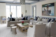 Shades of Gray with Blue / by Blanche and Kate Design