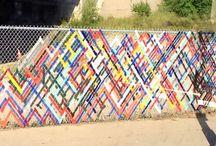 Fence / #fence #streetart