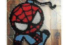 hama spiderman