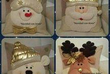 paño lency navidad moldes