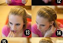 Taming the hair