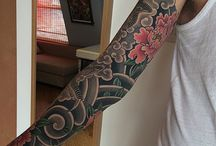 tattoo / japan and traditional tattoo