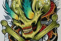 New scool tatoo