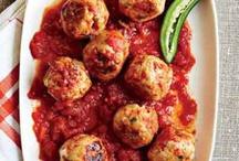 Meatballs & Loaf
