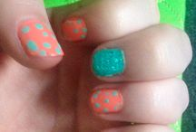 Nail designs by me / Different styles and types of nail candy