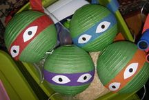 TMNT party / Ideas for Logan's 5th party