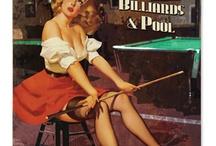 Pool / 1950s pool hall