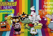 Juguetes de Papel Owoko / Conseguilos GRATIS haciendo clic aquí: http://bit.ly/JuguetesOwoko