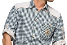 Trachten Shirts checkered / Traditional costume shirts with Vichy checks are a classic of German traditional costume fashion for men. They are not only the perfect outfit when attending the Munich Oktoberfest, but can also easily be combined with casual wear. With their great variety of colours and designs, there is a Vichy checkered shirt for every taste! www.trachten-dirndl-shop.co.uk