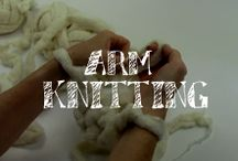 Moore: Arm Knitting / Create beautiful scarves and cowls in less than 15 minutes using the hottest new technique in knitting - Arm Knitting! Watch these tutorials, for both right and left handed knitters, and you'll be able to create incredible pieces with your favorite yarns! / by A.C. Moore Arts & Crafts