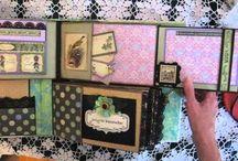 scrapbooking / Álbumes, tarjetas, bajar y otros proyectos #handmade de #scrapbooking