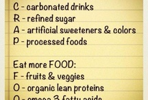 healthy eating/ workout plans / by Melanie Cole